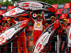 Recap of Vodafone Gold Coast 600 for Shell V-Power Racing Team