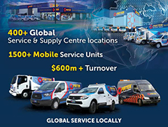 Global Service Locally Listing