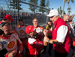 Recap of Coates Hire Newcastle 500 for Shell V-Power Racing Team